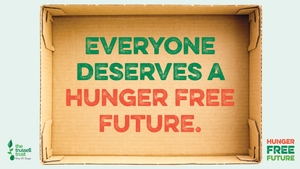 We're supporting The Trussell Trust's #HungerFreeFuture campaign