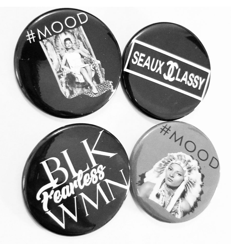 Ladies First Button Pack