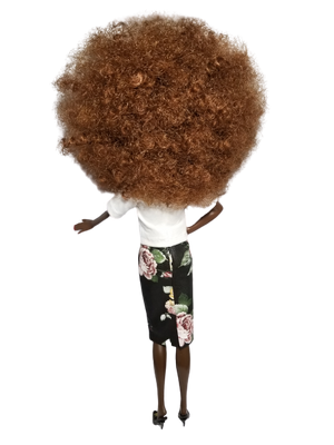 Chanel Afro Collector Doll