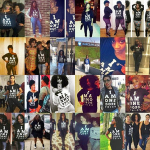 I Am One Dope Chick, Classic Black Tee