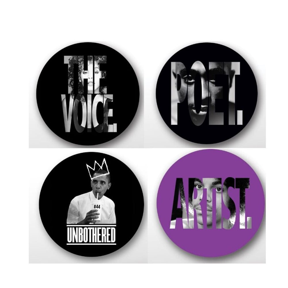 The Defiant Ones Button Pack