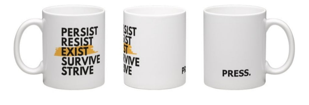 PRESS Limited Edition 11 oz Ceramic Mug