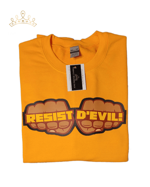 Resist D'Evil Sweatshirt - Limited Edition