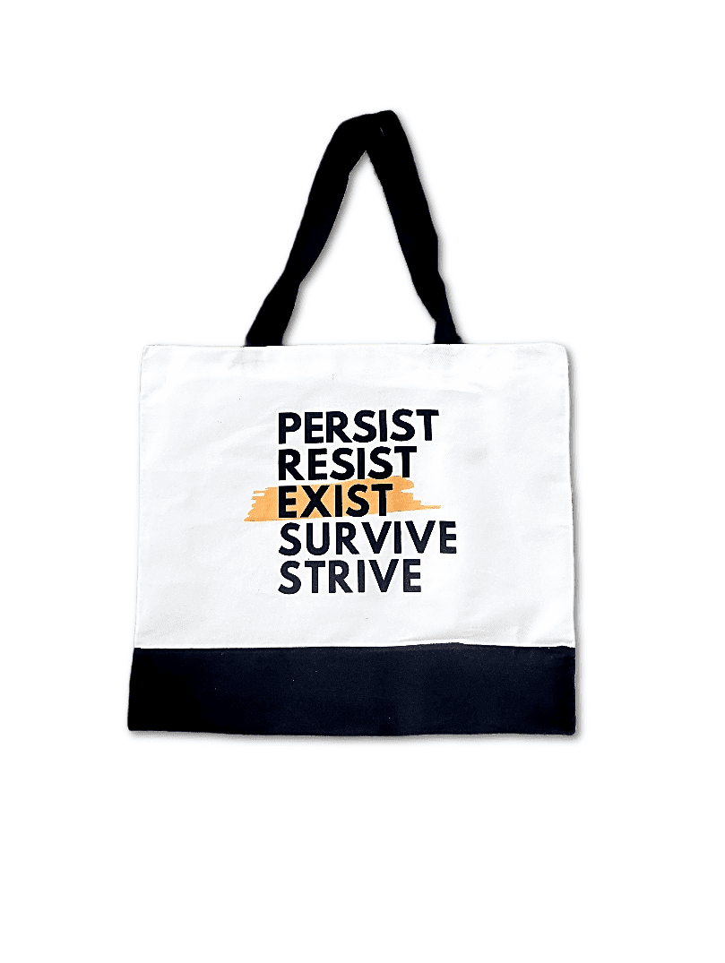 PRESS Tote White, options added!!