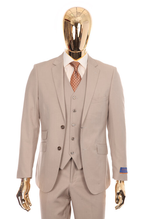 A6732 - SOLID VESTED SUIT SLIM FIT