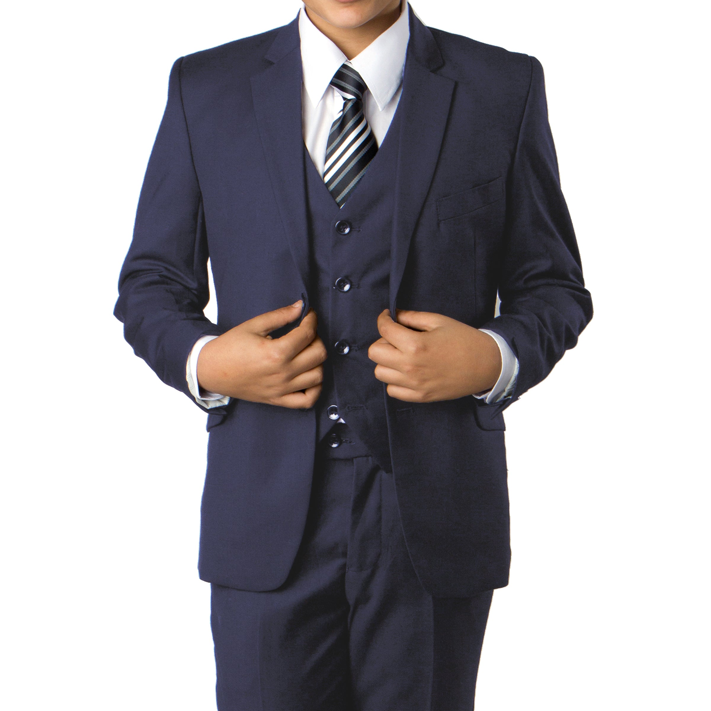 Navy Suit For Boys Formal Suits For All Ocassions B358-02