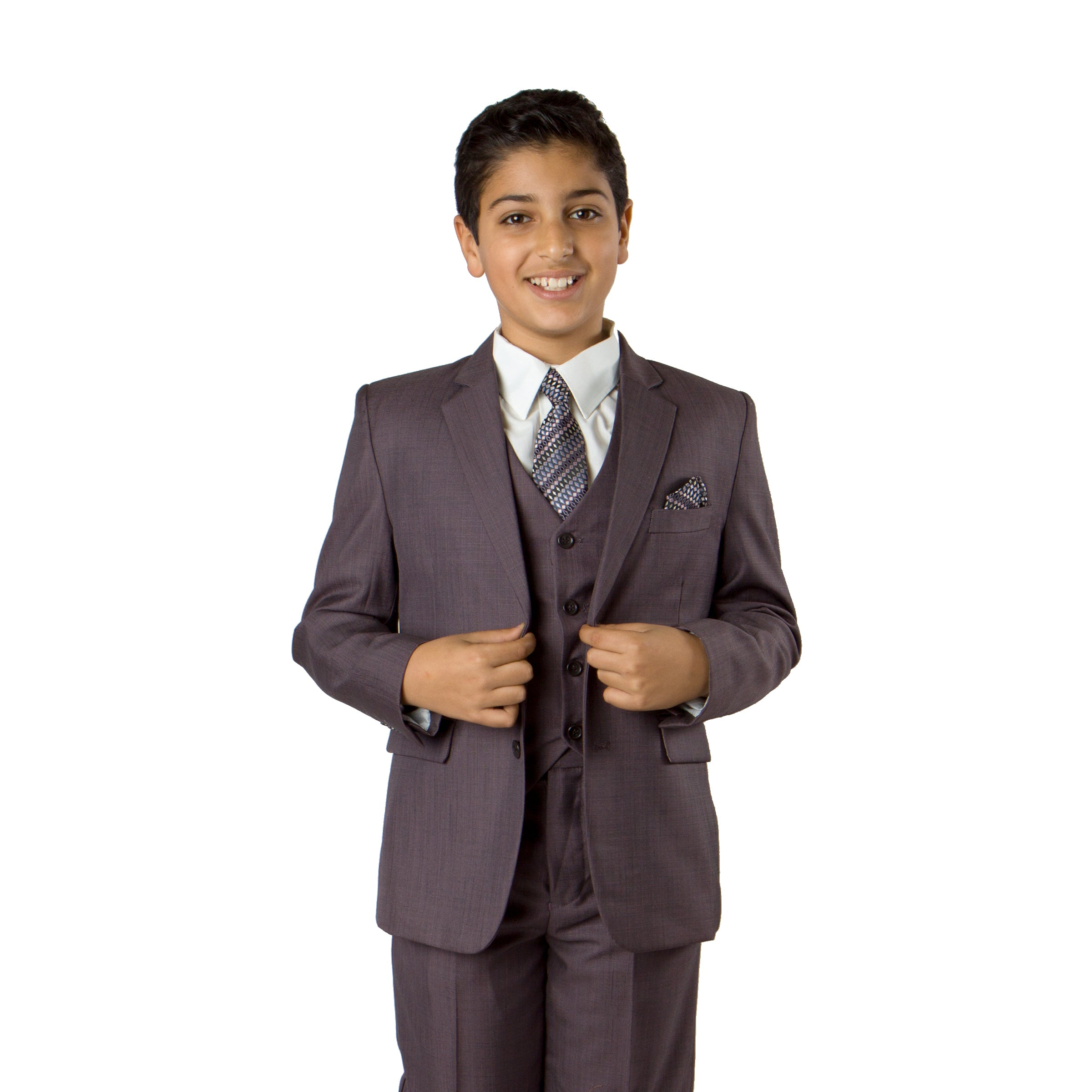 Tazio Lavender Formal Suits For Boys