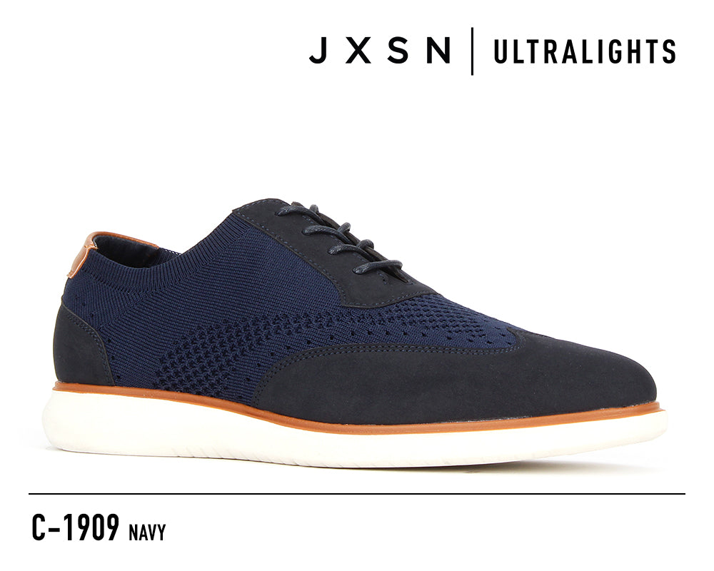 C-1909 CASUAL KNIT OXFORD