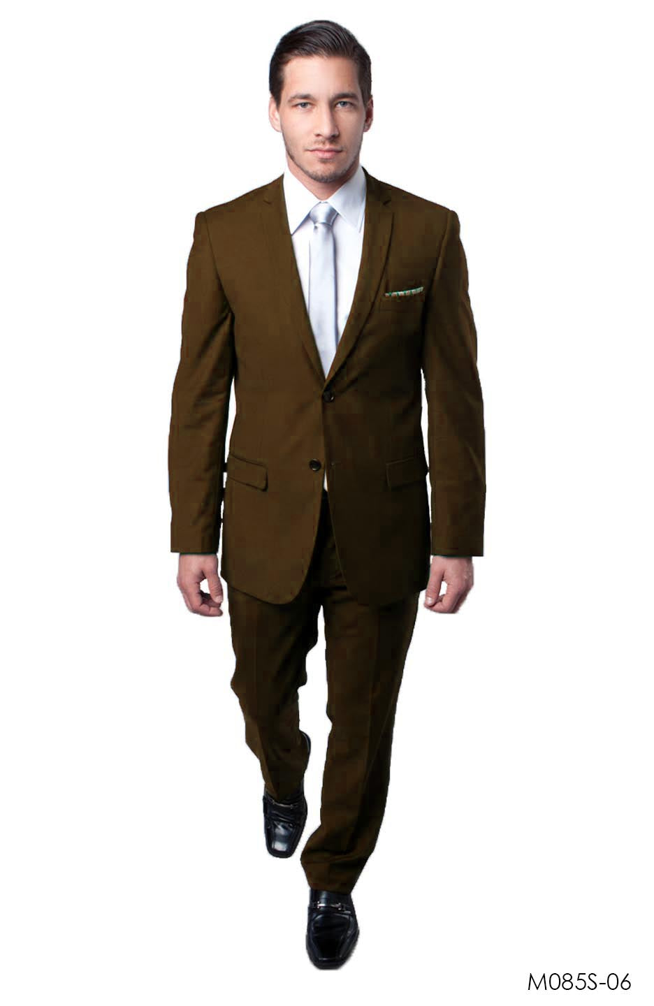 Brown Suit For Men Formal Suits For All Ocassions M085S-06