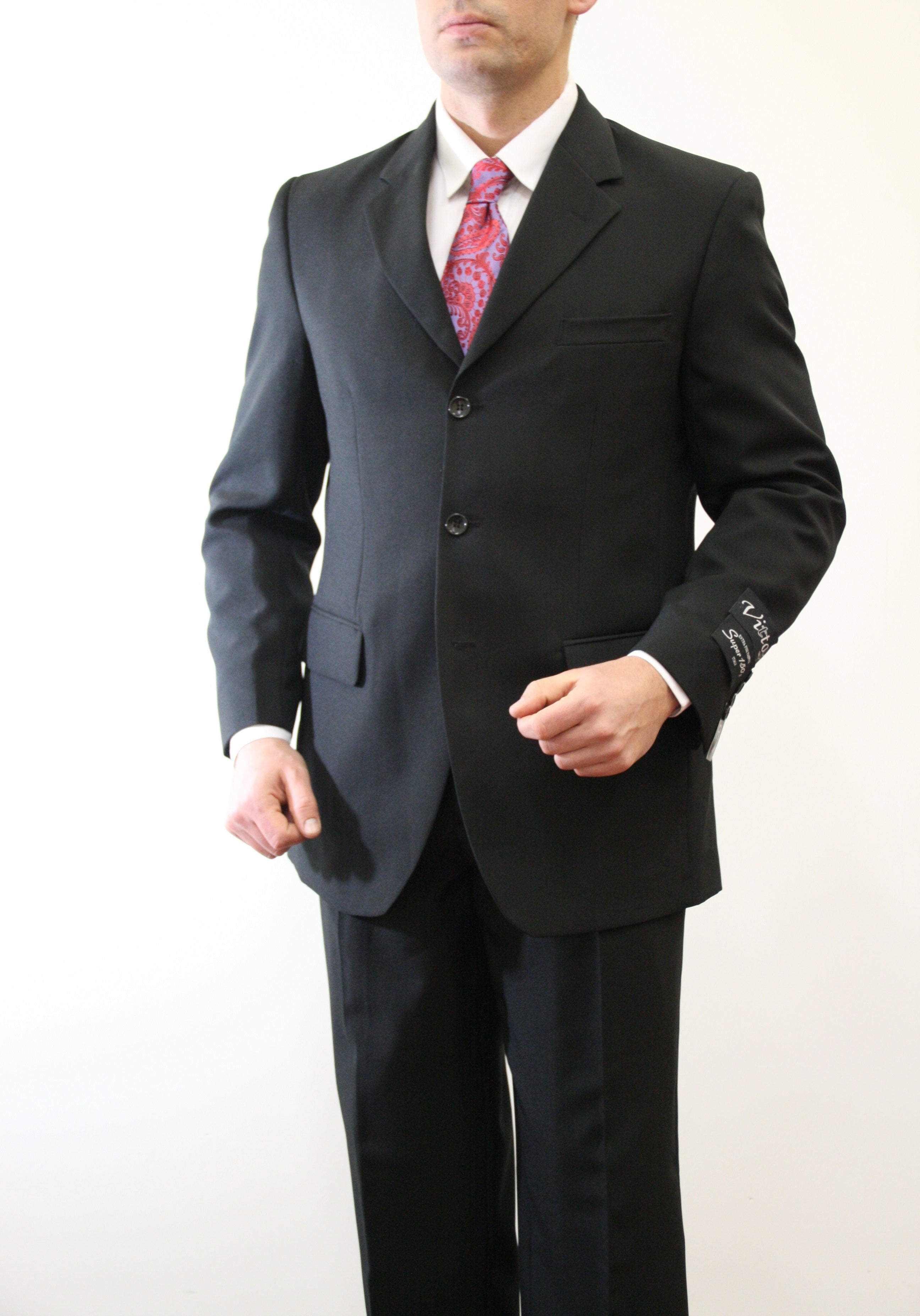 Black Suit For Men Formal Suits For All Ocassions M097-01