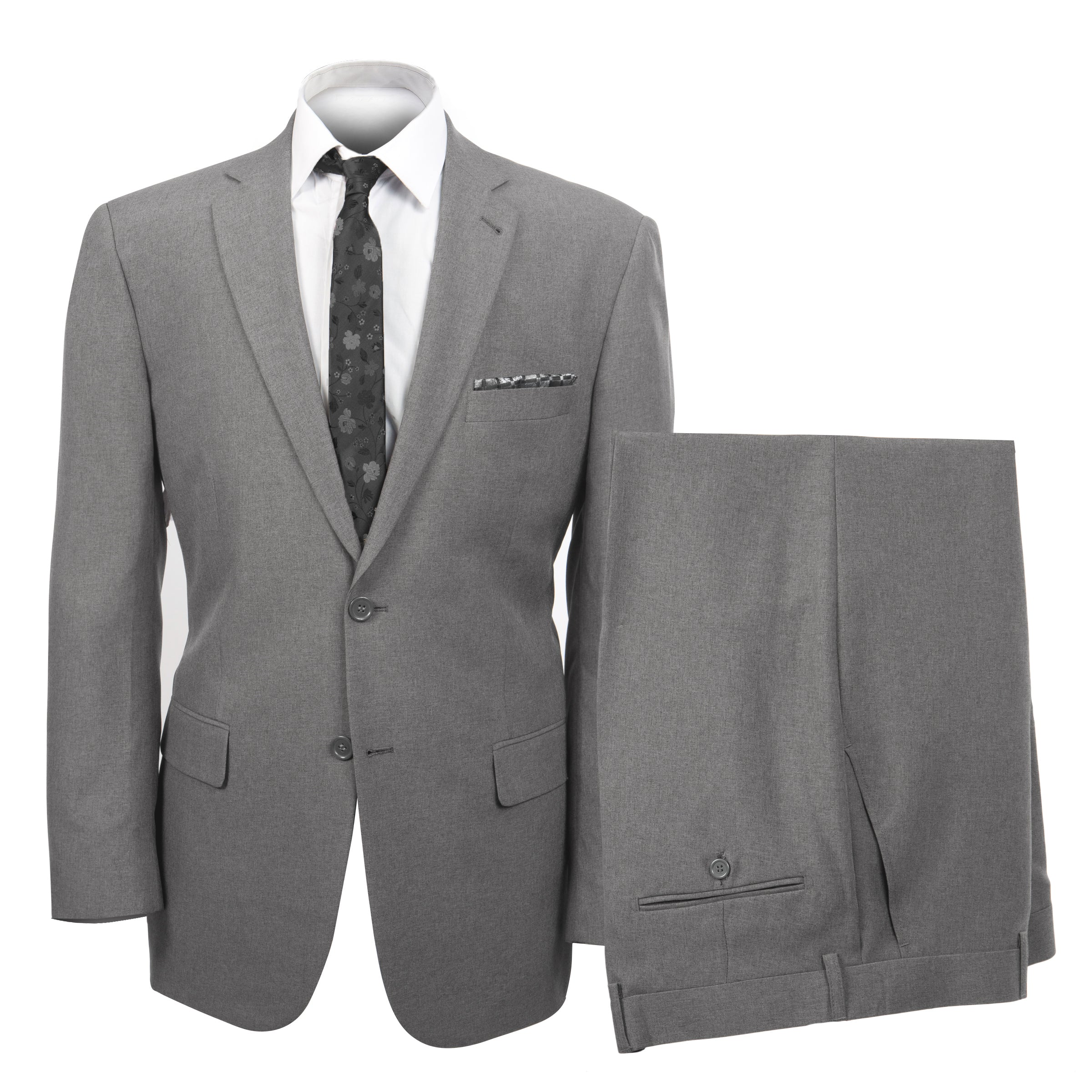 Grey Suit For Men Formal Suits For All Ocassions M116-02