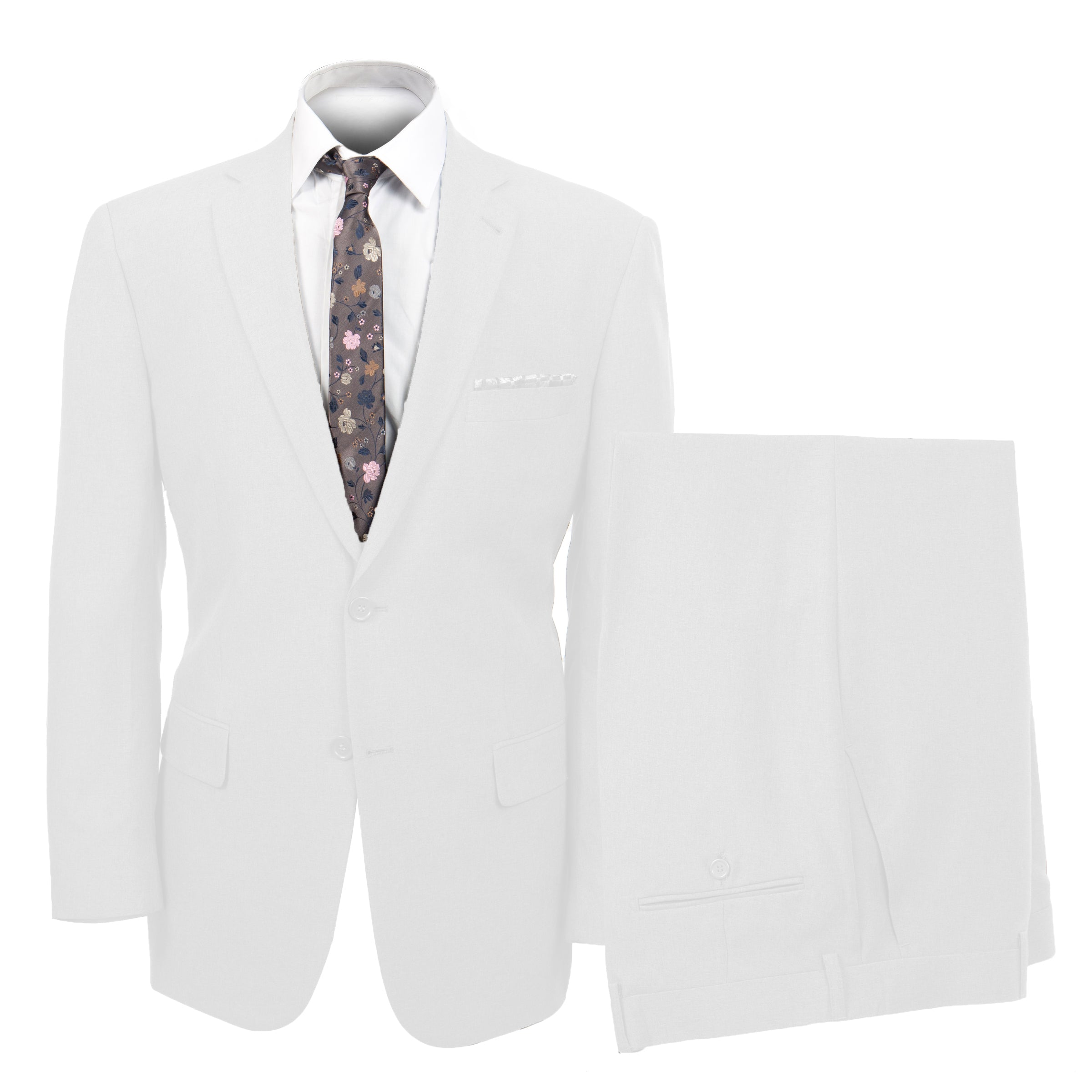 White Suit For Men Formal Suits For All Ocassions M116-05