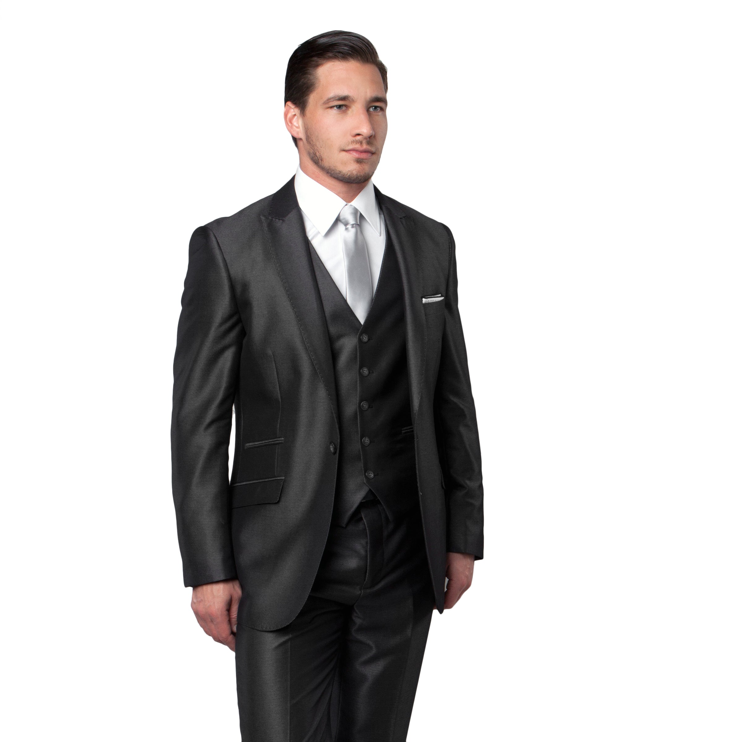Grey Suit For Men Formal Suits For All Ocassions M166S-02