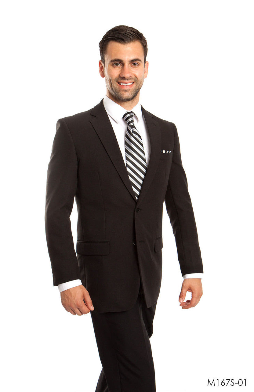 Black Suit For Men Formal Suits For All Ocassions M167S-01