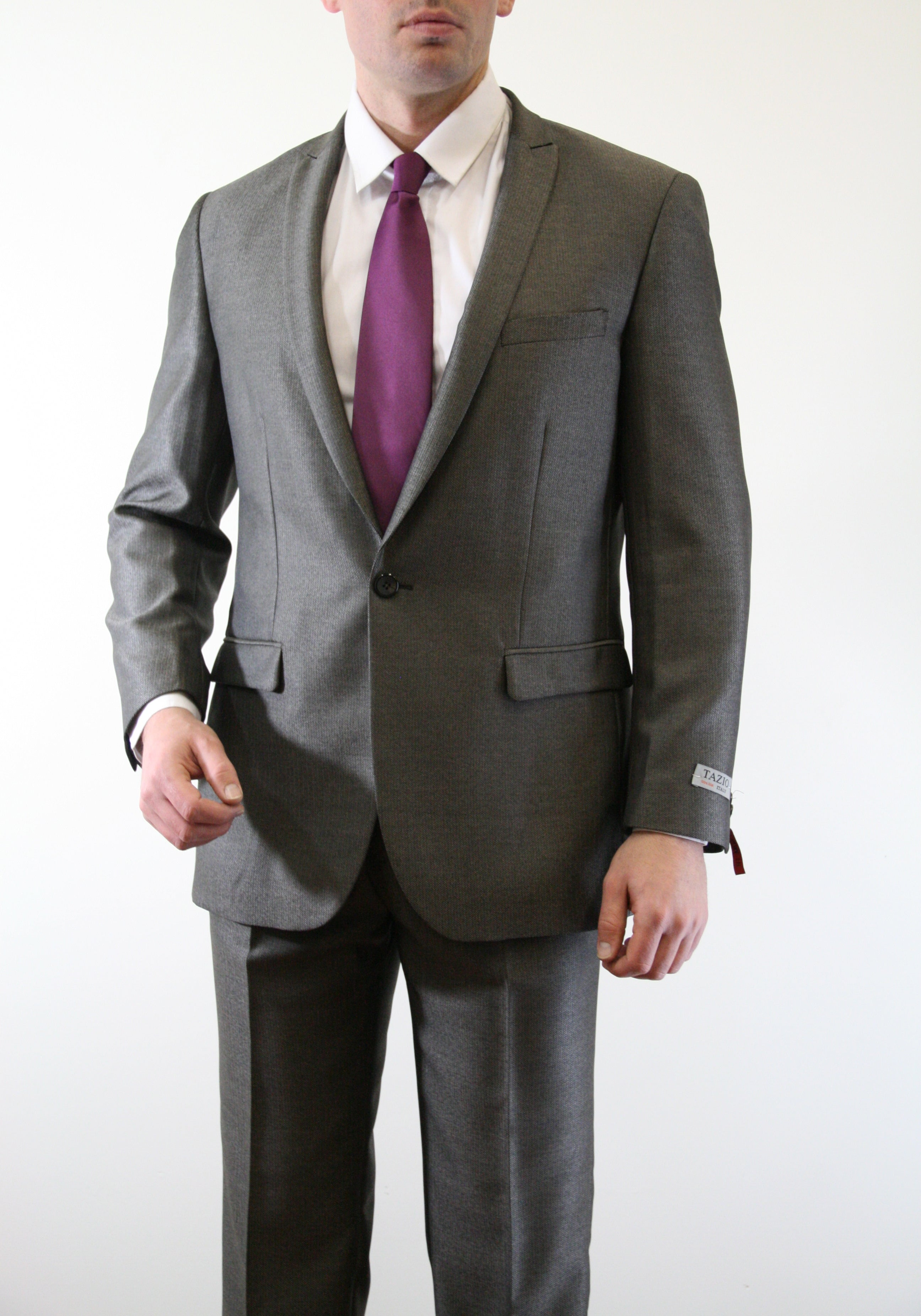 Slate Suit For Men Formal Suits For All Ocassions M192S-05