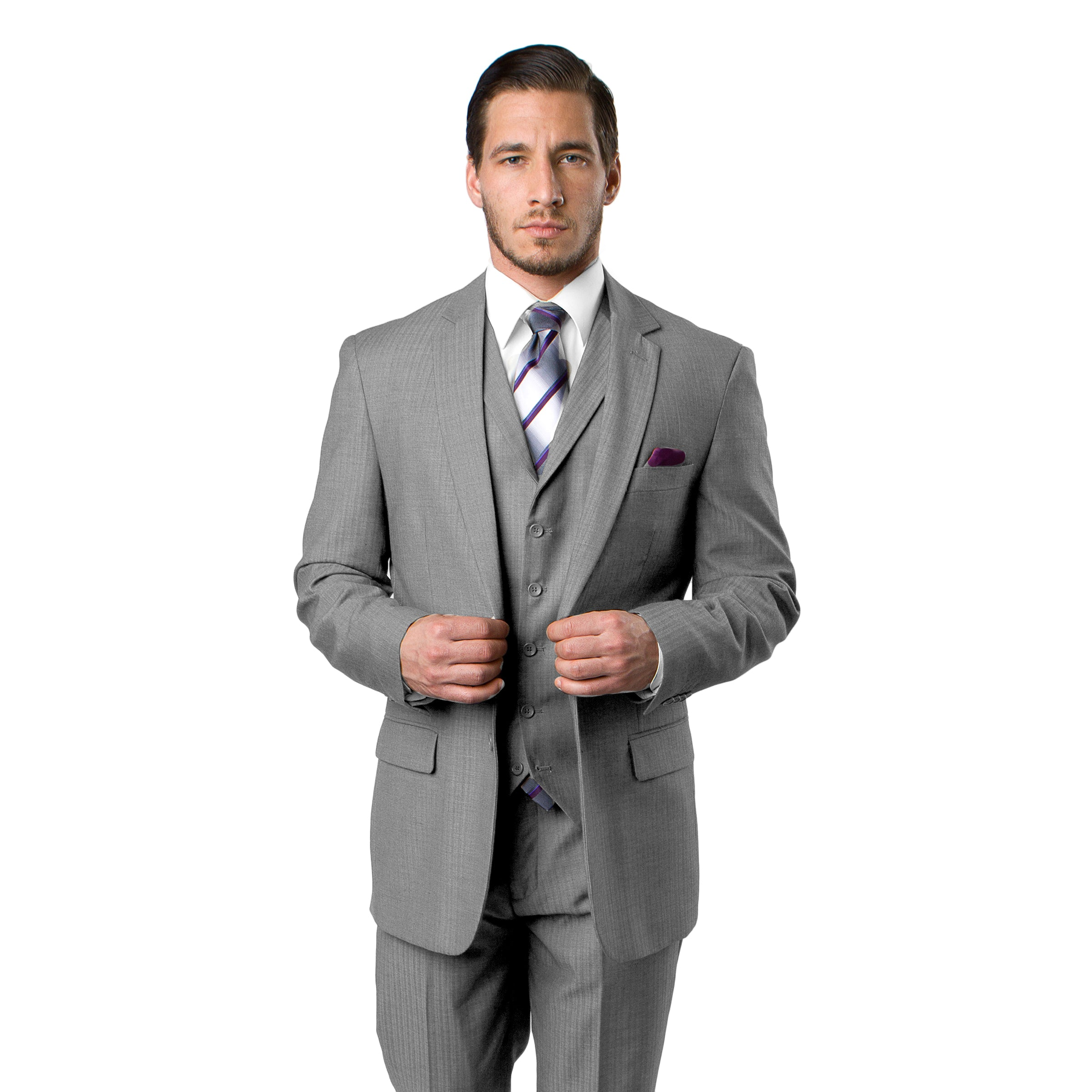 Grey Suit For Men Formal Suits For All Ocassions M230-03