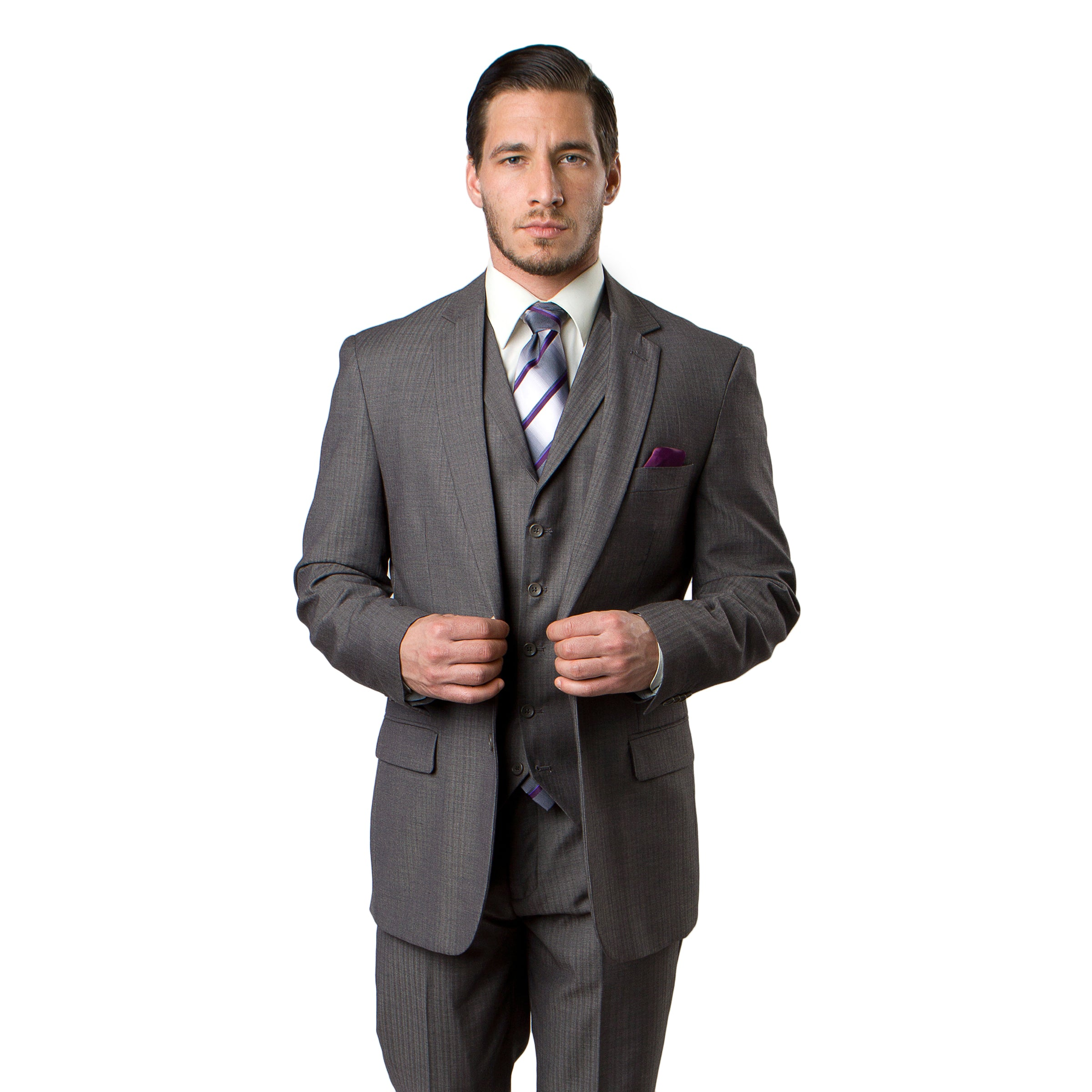 Grey Suit For Men Formal Suits For All Ocassions M230-04