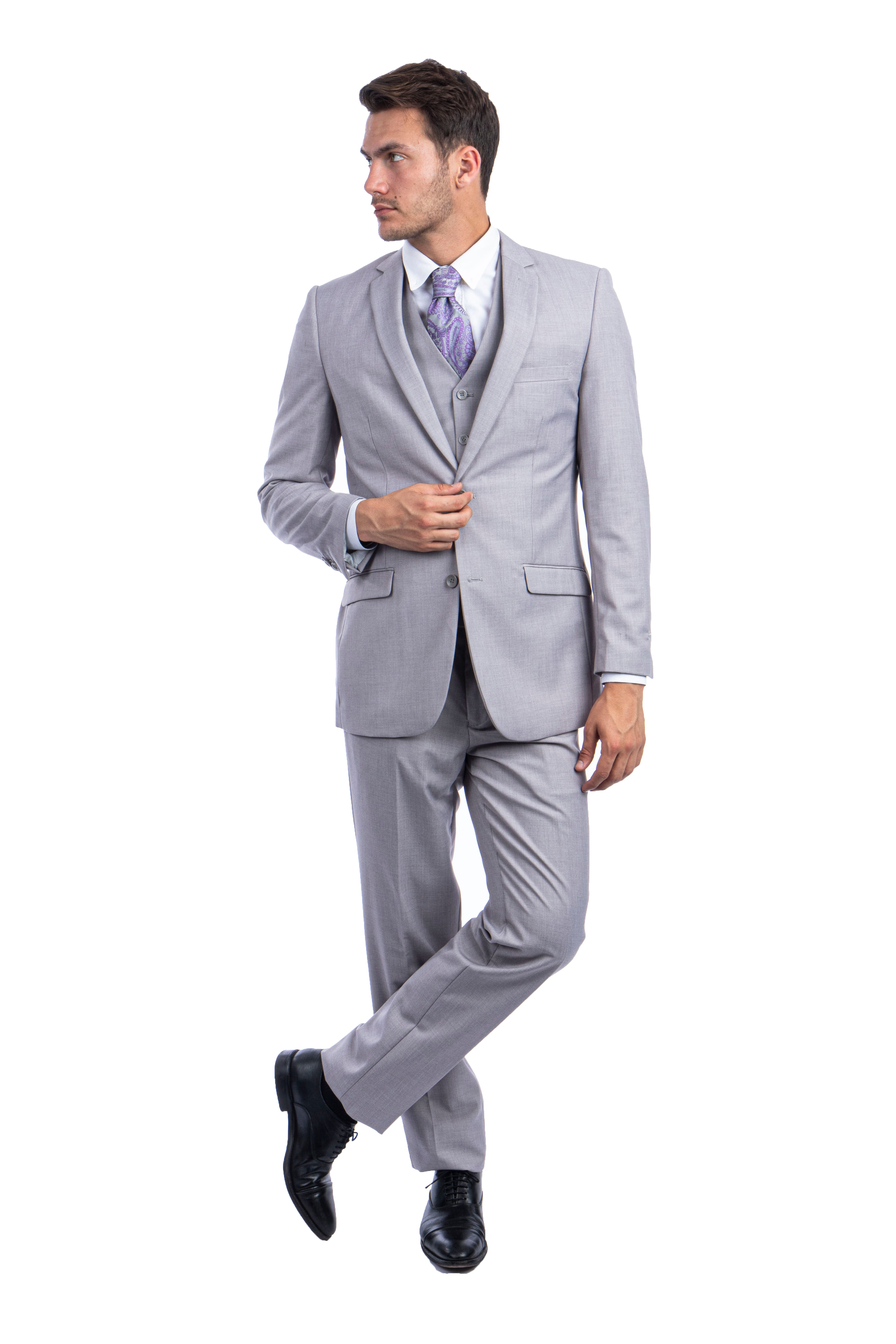 Lt.Grey Suit For Men Formal Suits For All Ocassions