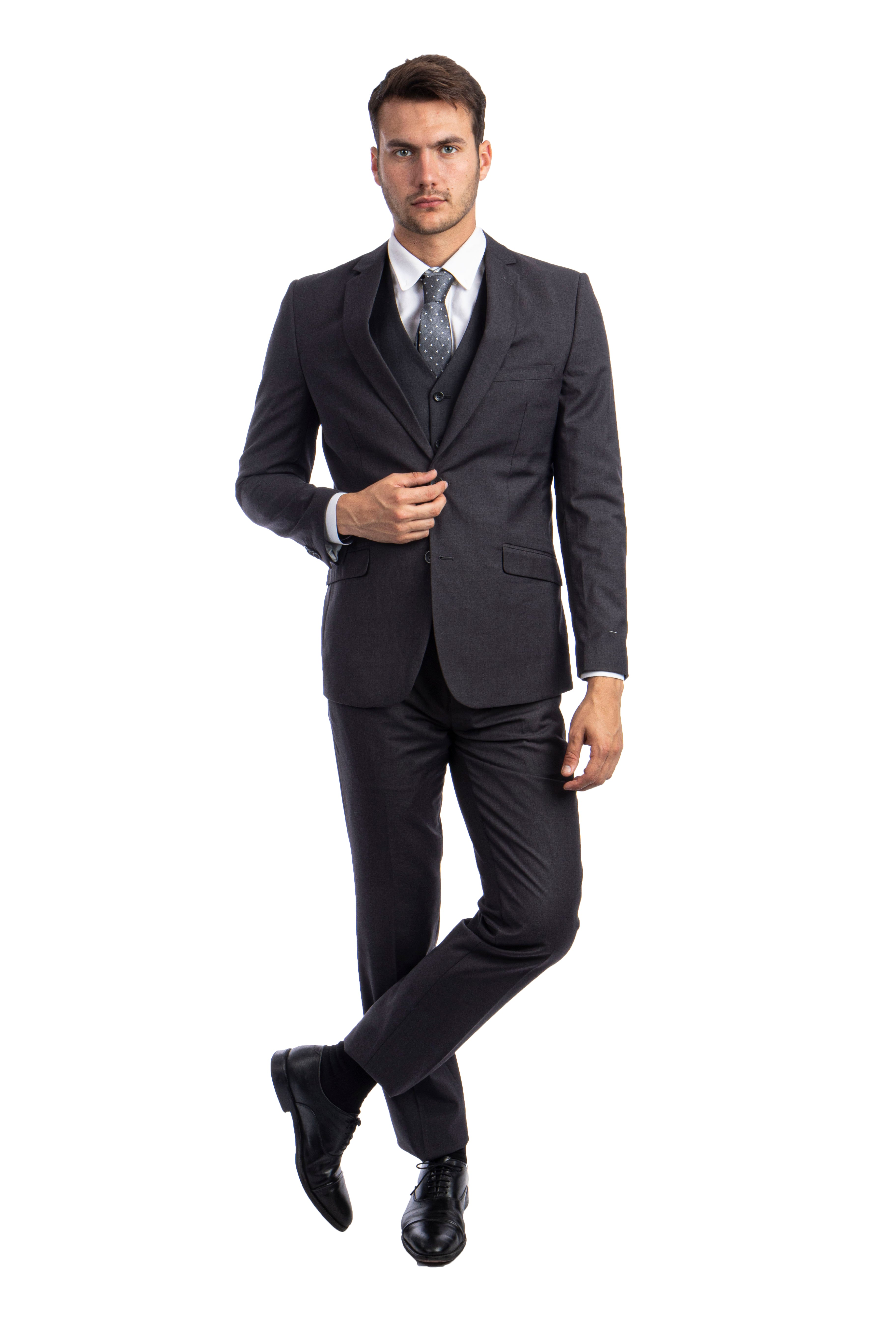 Charcoal Suit For Men Formal Suits For All Ocassions