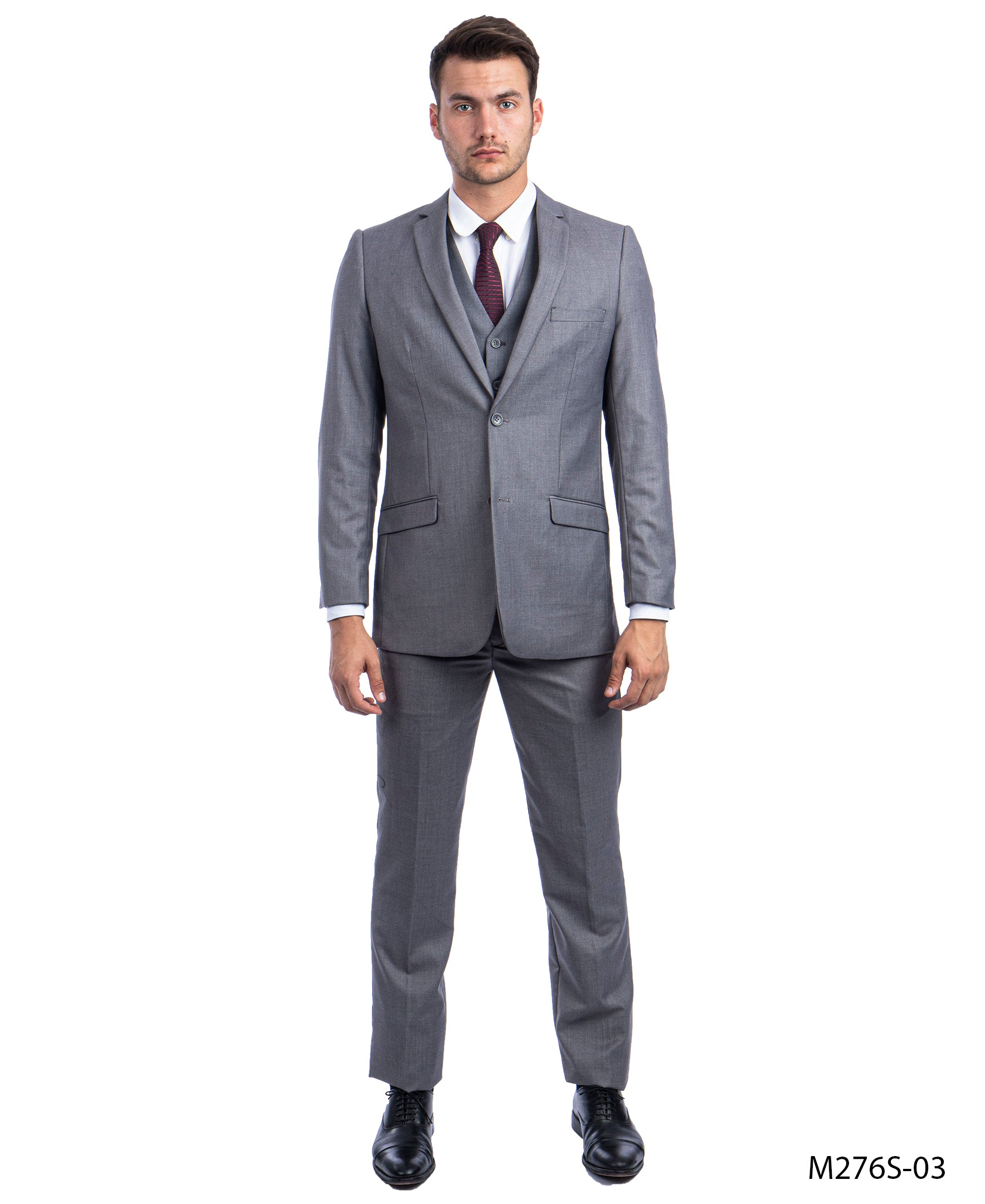 Mid Gray  Suit For Men Formal Suits For All Ocassions