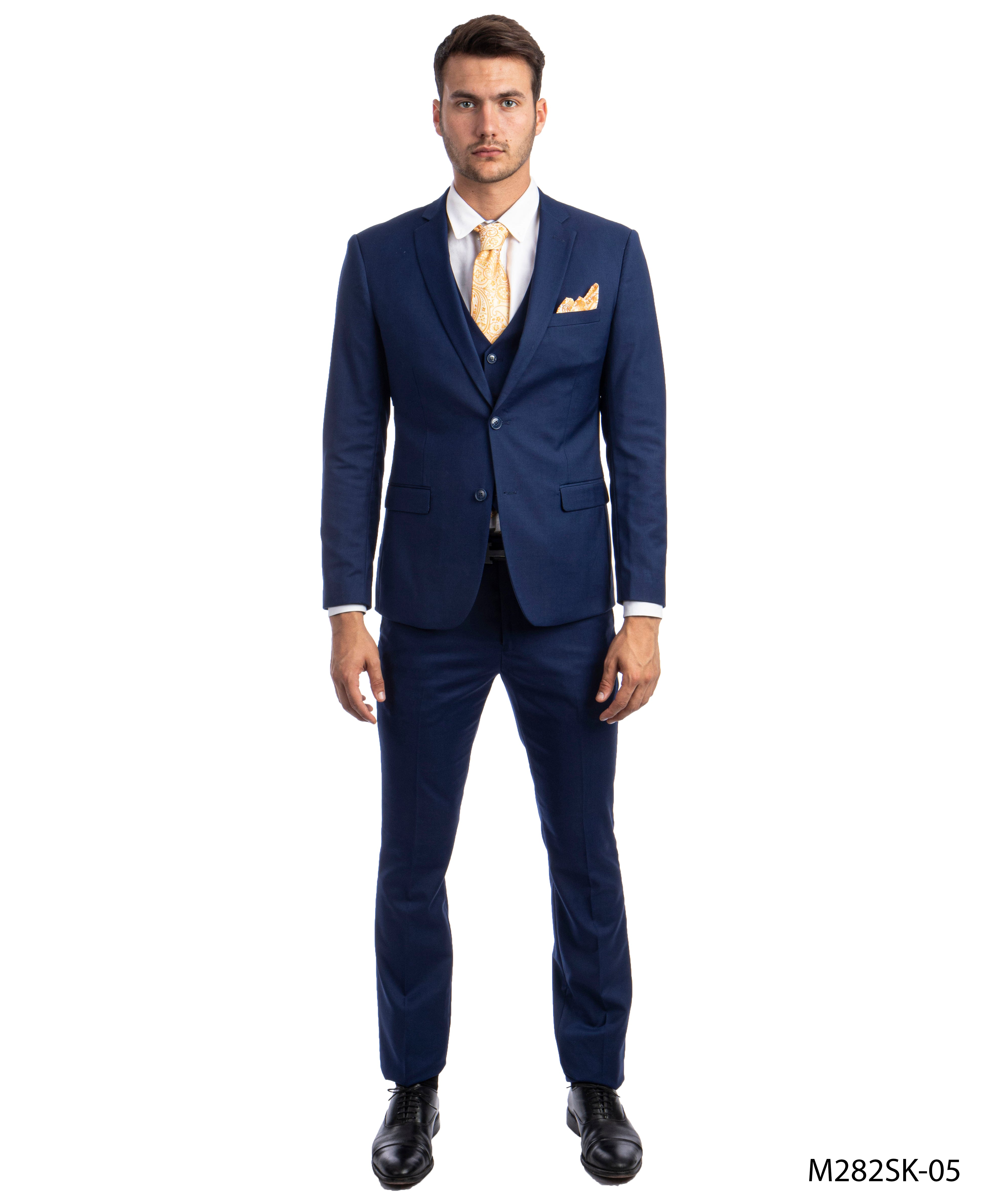 Indigo Suit For Men Formal Suits For All Ocassions