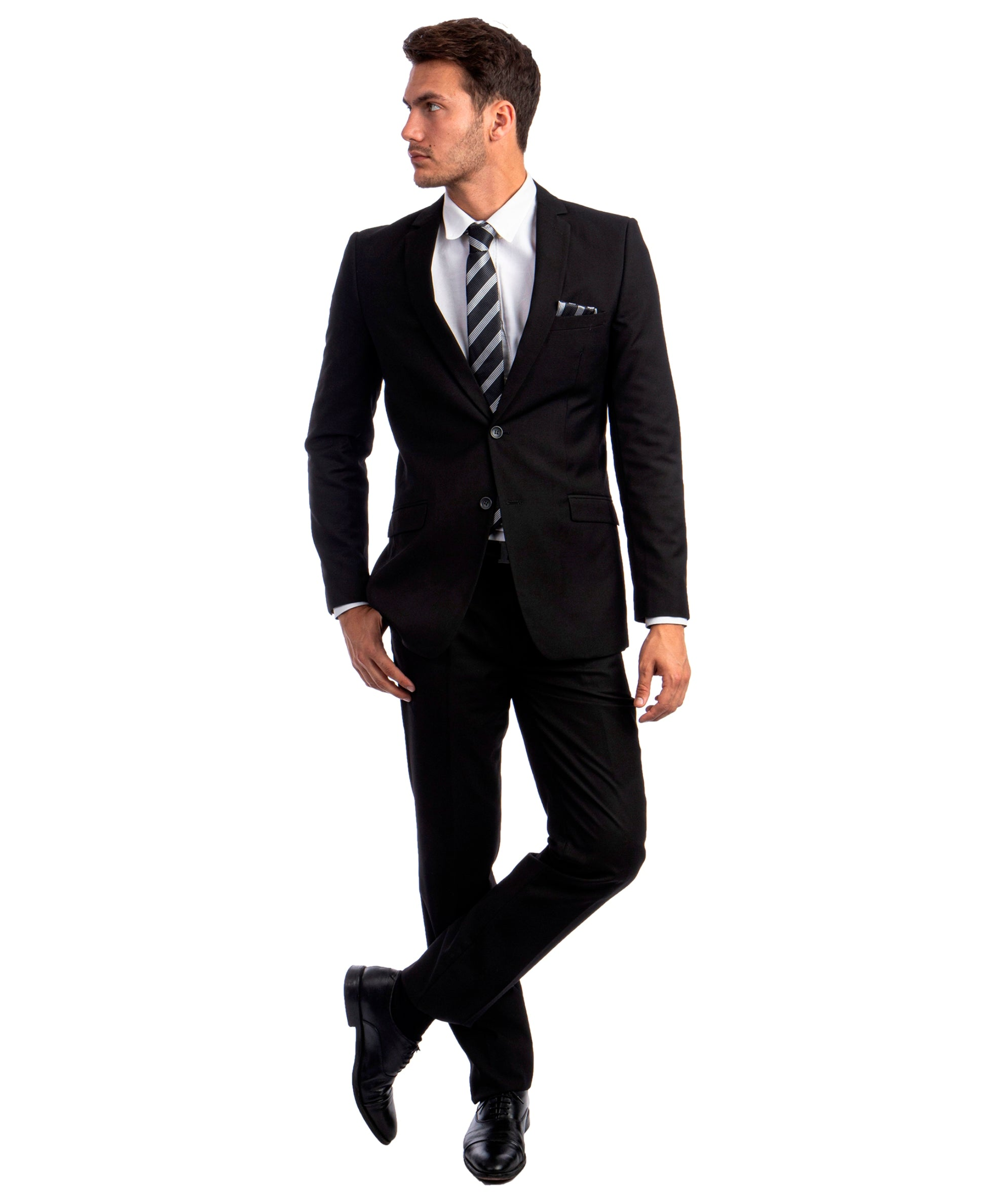 Black Suit For Men Formal Suits For All Ocassions