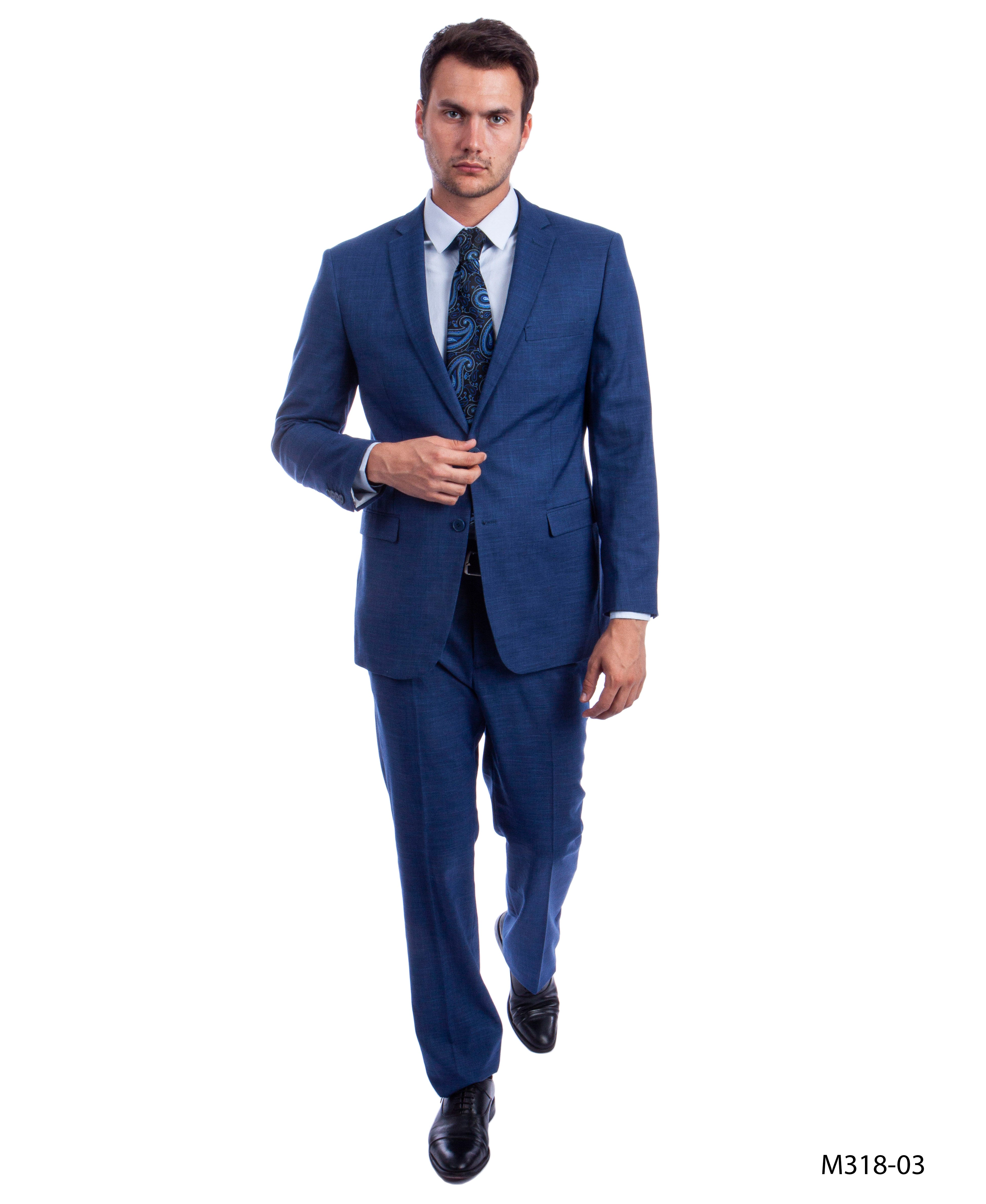 Med Blue Suit For Men Formal Suits For All Ocassions