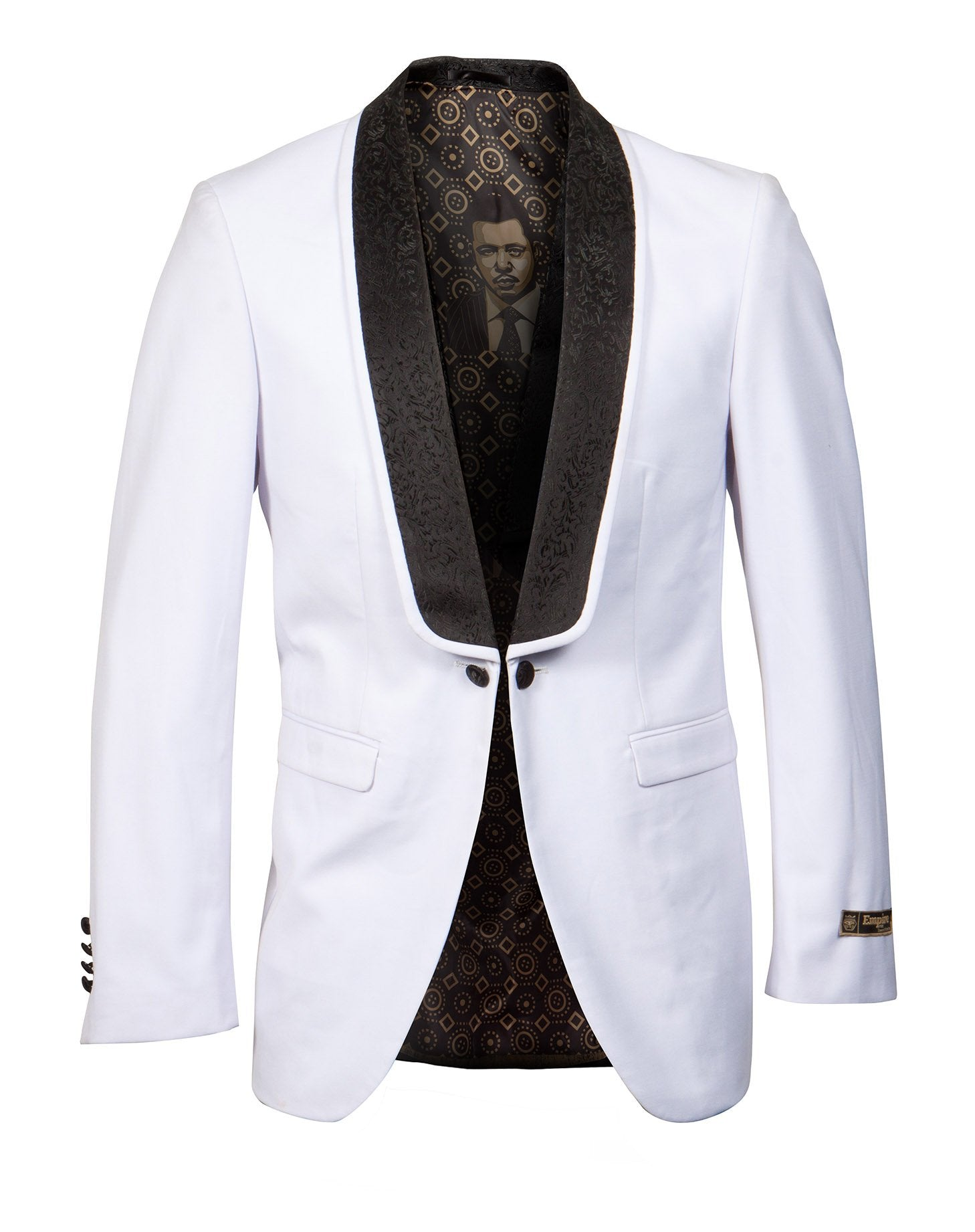 Empire Shawl Collar Hybrid/Slim Fit Blazer Jacket ME268H