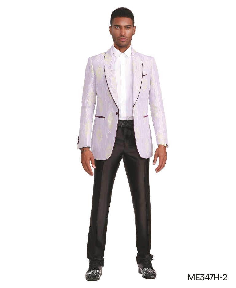 White Empire Show Blazers Formal Dinner Suit Jackets For Men ME347H-02
