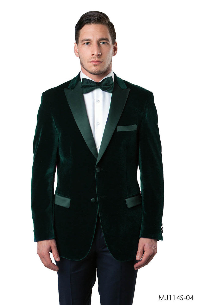Hunter Green Jackets For Men Jacket Suits For All Ocassions MJ114S-04