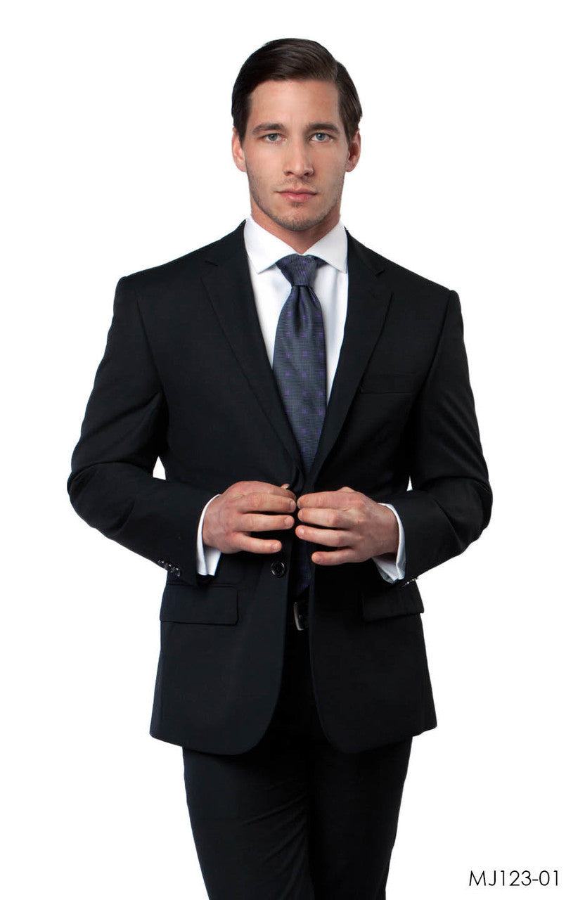 Black Jackets For Men Jacket Suits For All Ocassions MJ123-01