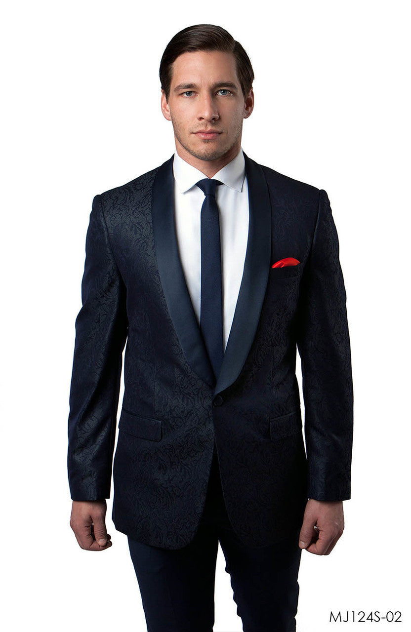 Navy Jackets For Men Jacket Suits For All Ocassions MJ124S-02