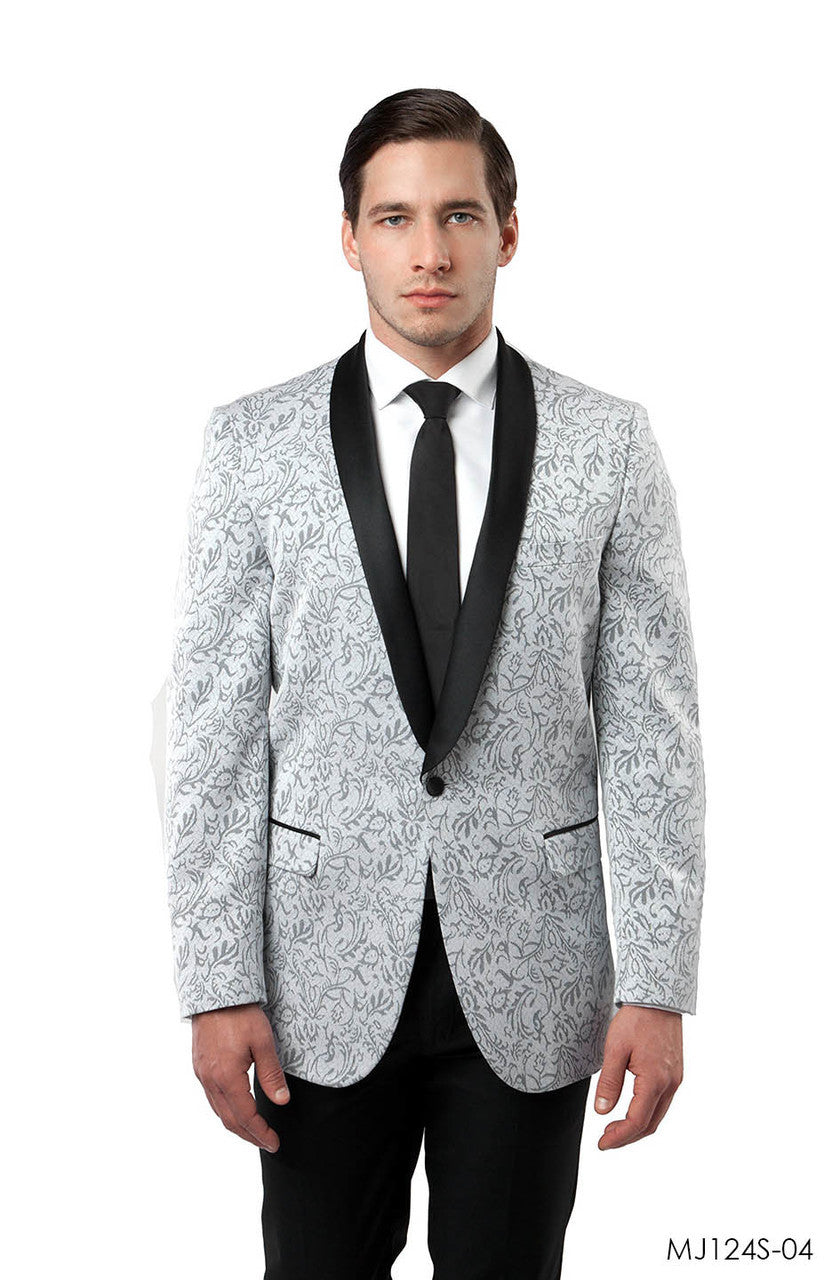 Silver Jackets For Men Jacket Suits For All Ocassions MJ124S-04