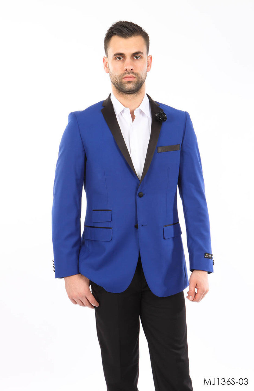 Blue Jackets For Men Jacket Suits For All Ocassions MJ136S-03