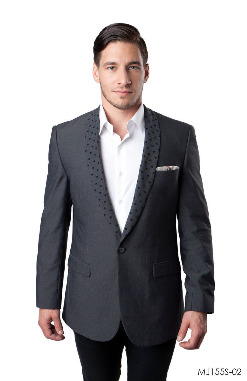 Grey Jackets For Men Jacket Suits For All Ocassions MJ155S-02