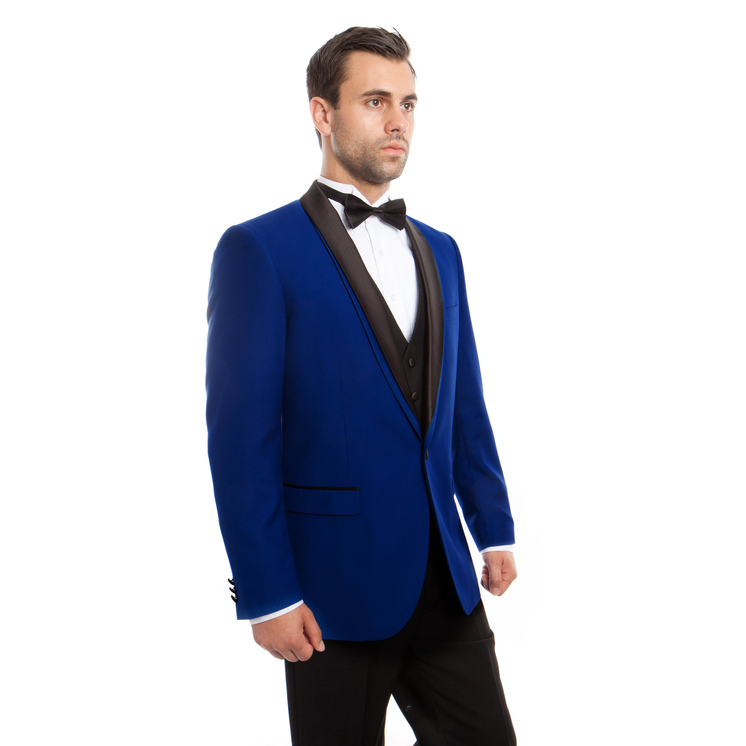 Shawl Collar Tuxedo Solid Slim Fit Prom Tuxedos For Men