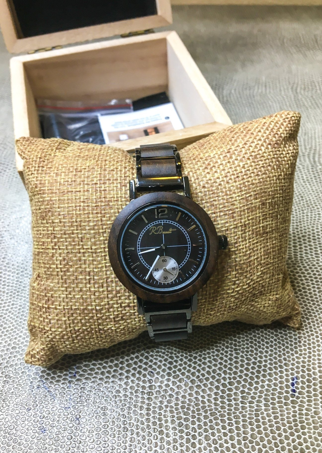 Metallo - Women's Wooden Watch