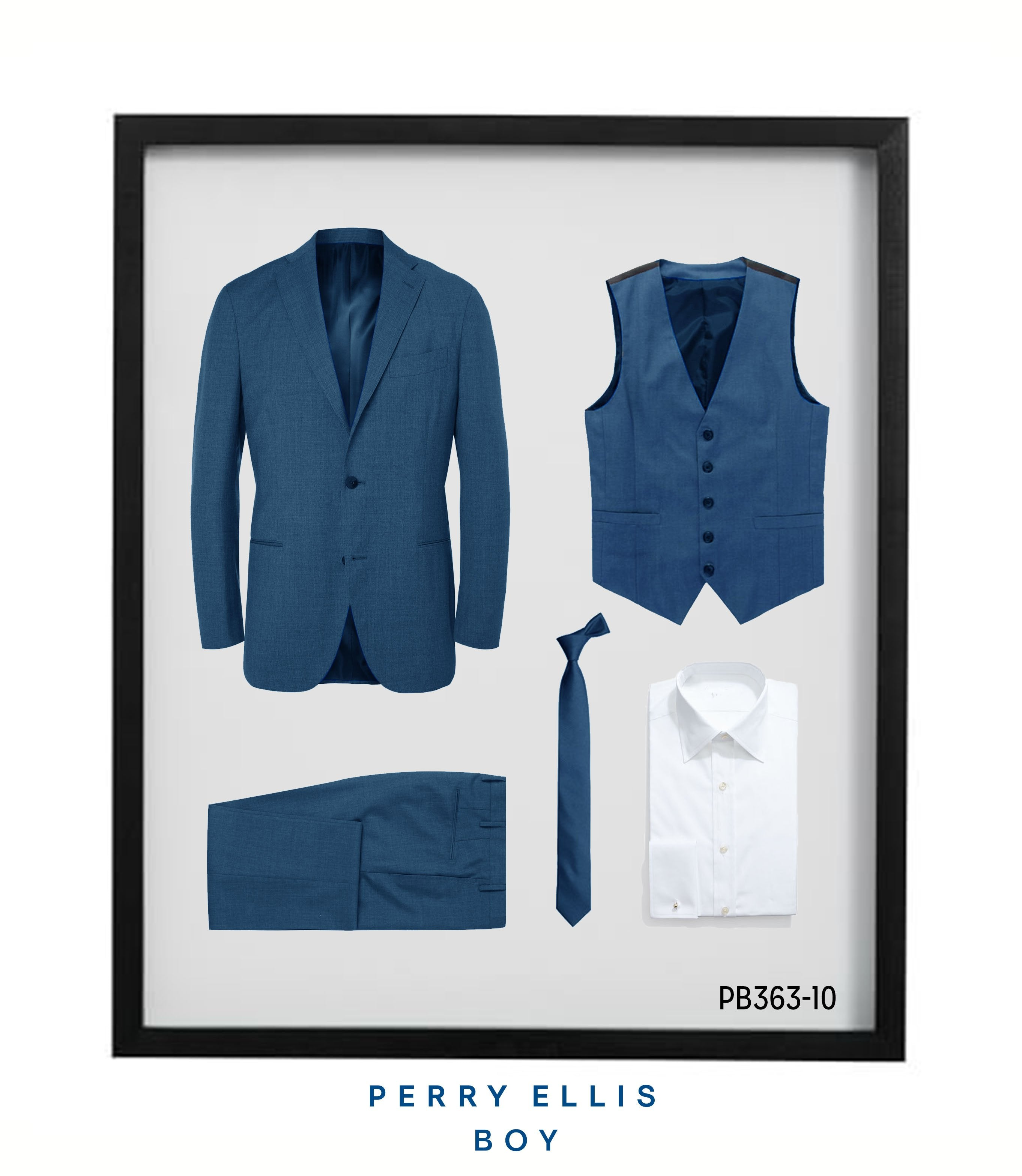 Perry Ellis Boys Suit Indigo Blue Suits For Boy's
