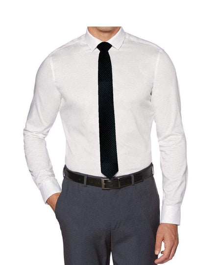 Perry Ellis Boys Dress Shirts w Black Tie Solid Shirts w Colored Tie
