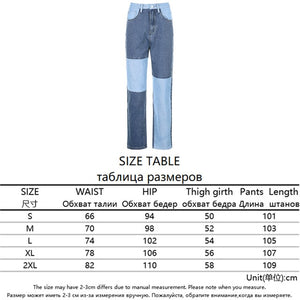 Kate Patchwork Jeans