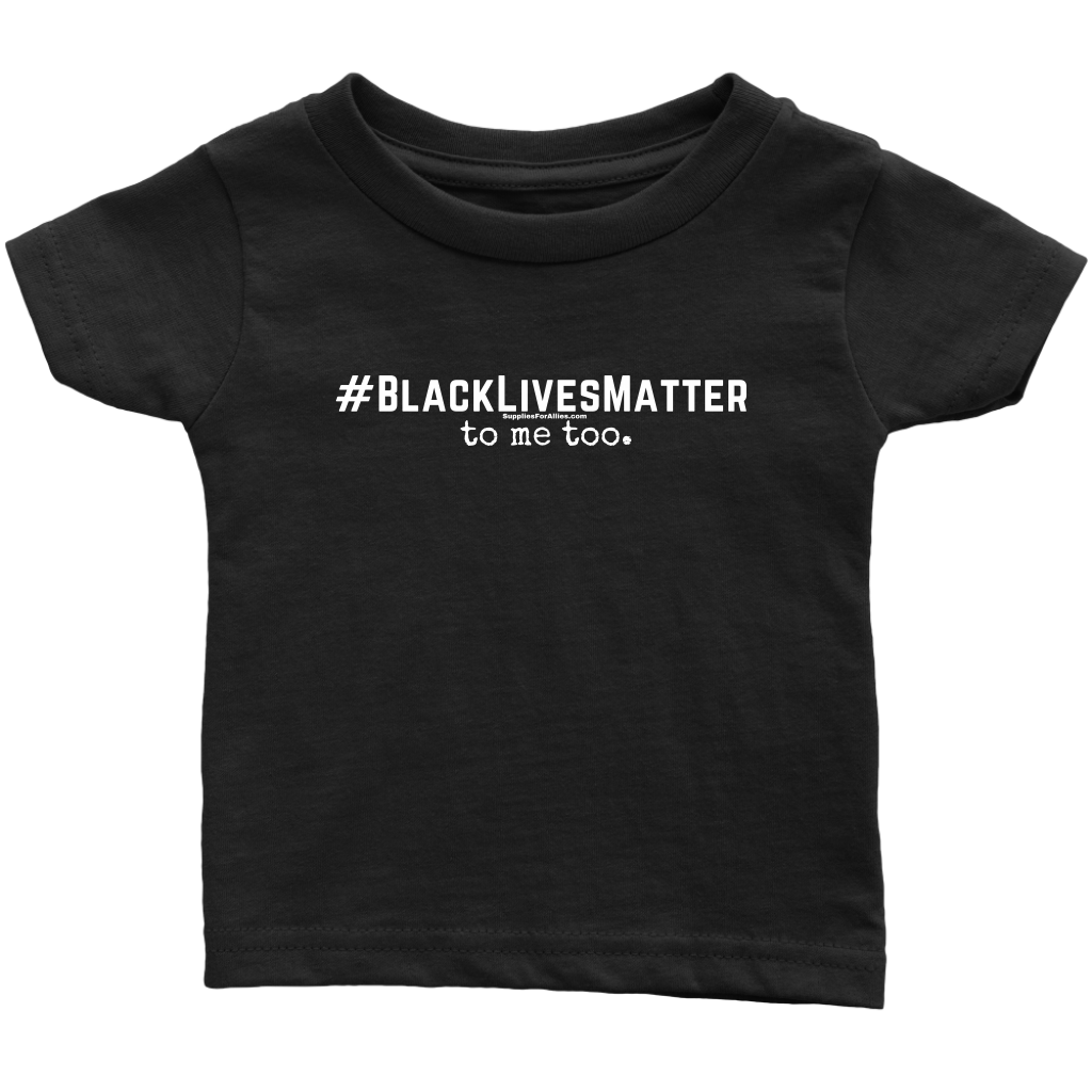 Infant - BLM2 black tee