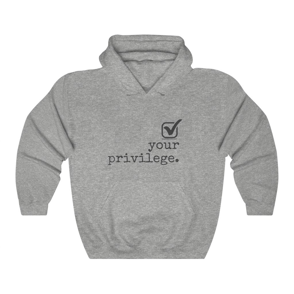 Check please hoodie (White)