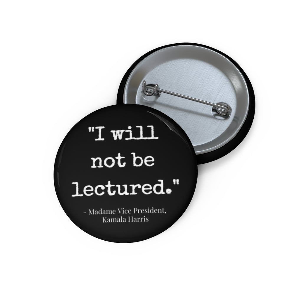 Lecture Pin (Black)