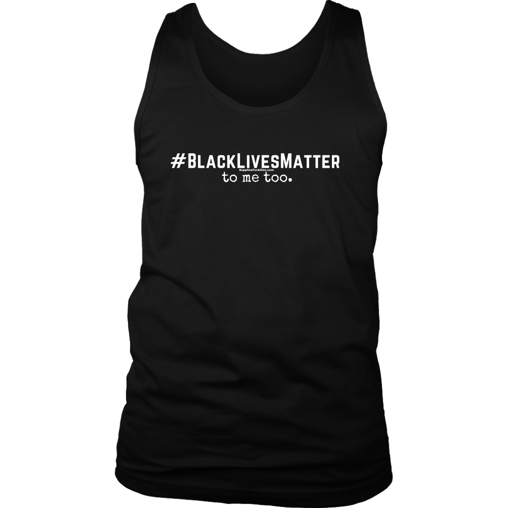 Men's Tank - BLM2 black