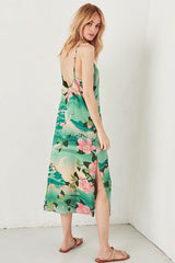 Nightingale Slip Dress - Green