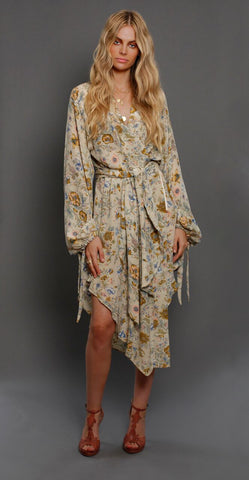 Pre order available October - The Saskia Wrap Dress