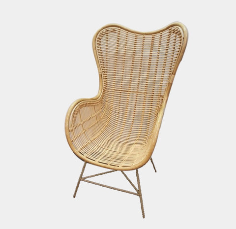 Cane high back chair - pre order may arrival