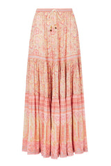 Poinciana Maxi Skirt - Cotton Candy