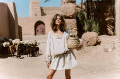 Moroccan Luxe Dress