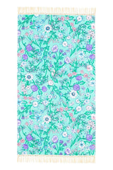 Flower Child Towel -Ocean